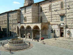 Piazza of Perugia