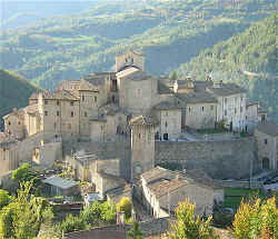 Vallo di Nera in Umbria