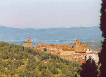 Panicale Umbria Italy